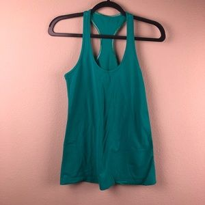 LULULEMON Racer Tank Top Teal Small 6